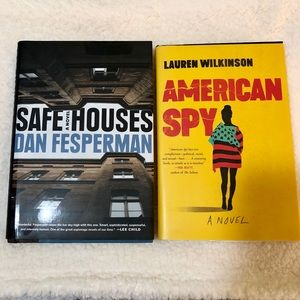 TWO HARD COVER SPY/THRILLER BOOKS. Like BRAND NEW.
